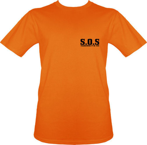 t-shirt S.O.S.- Searching for sex