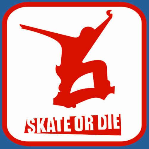 t-shirt Skate or die