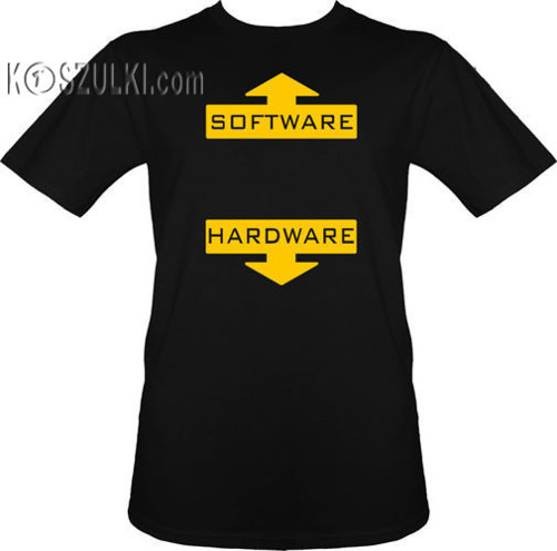 t-shirt Software,Hardware