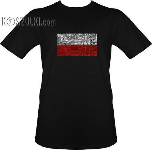 t-shirt T053 Polska - Flaga