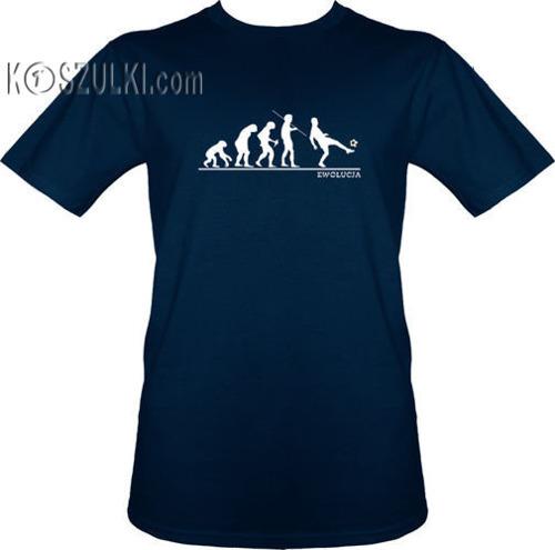 t-shirt T214 Piłkarska ewolucja