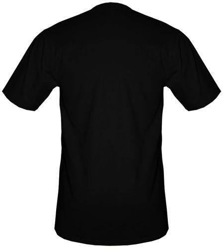 t-shirt T254 Football Support Czarny