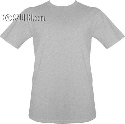 t-shirt bez nadruku Szary melanż