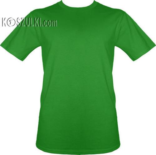 t-shirt bez nadruku Zielony jasny