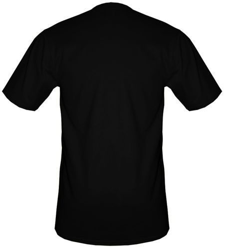 t-shirt xxxl bez nadruku- Czarny